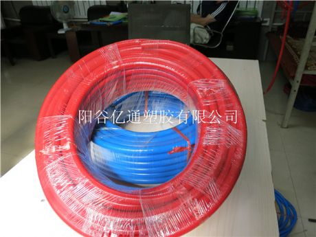 Special tube for automatic cleaning equipment and automatic washing machine